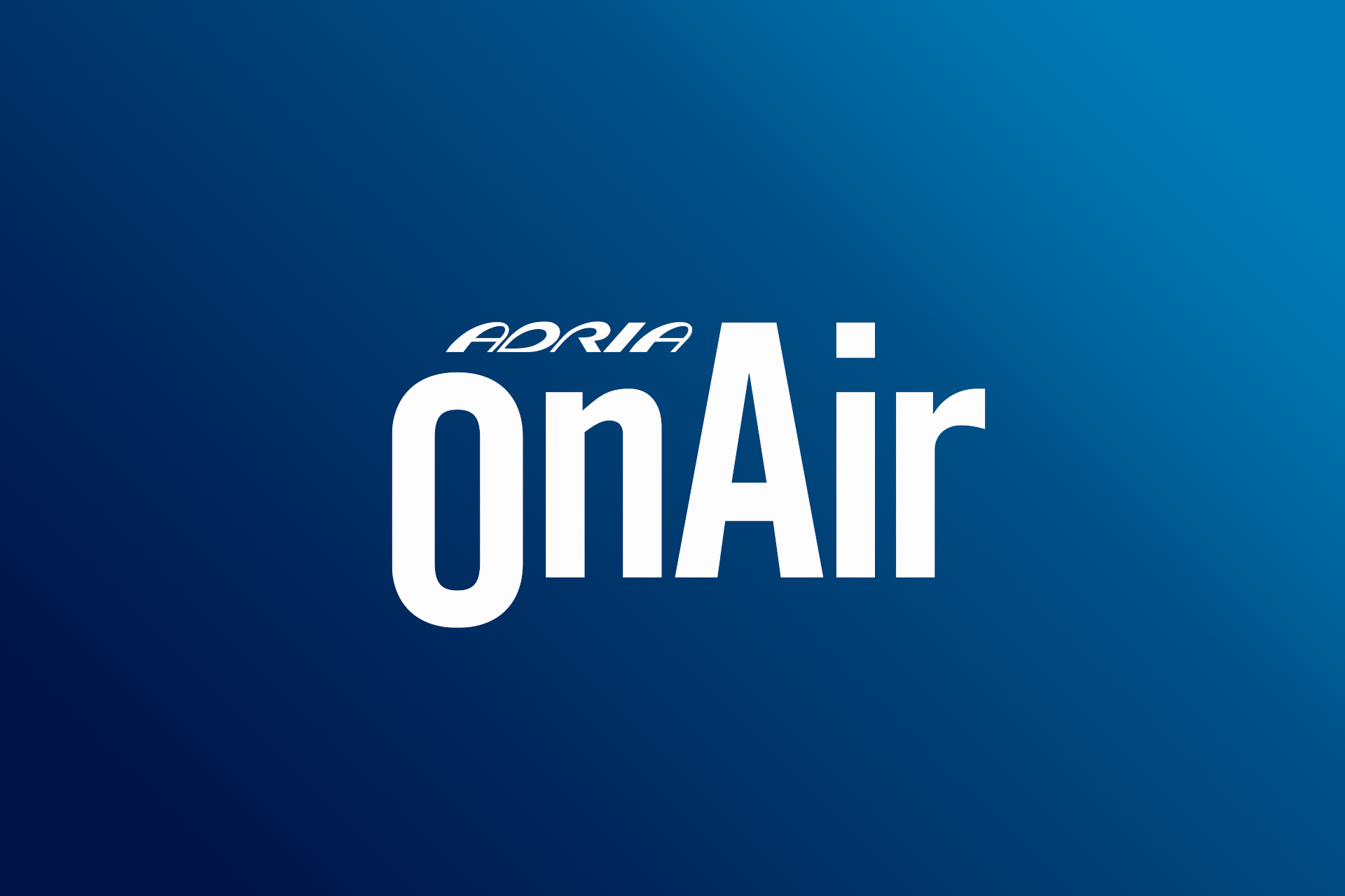 Adria OnAir logotip