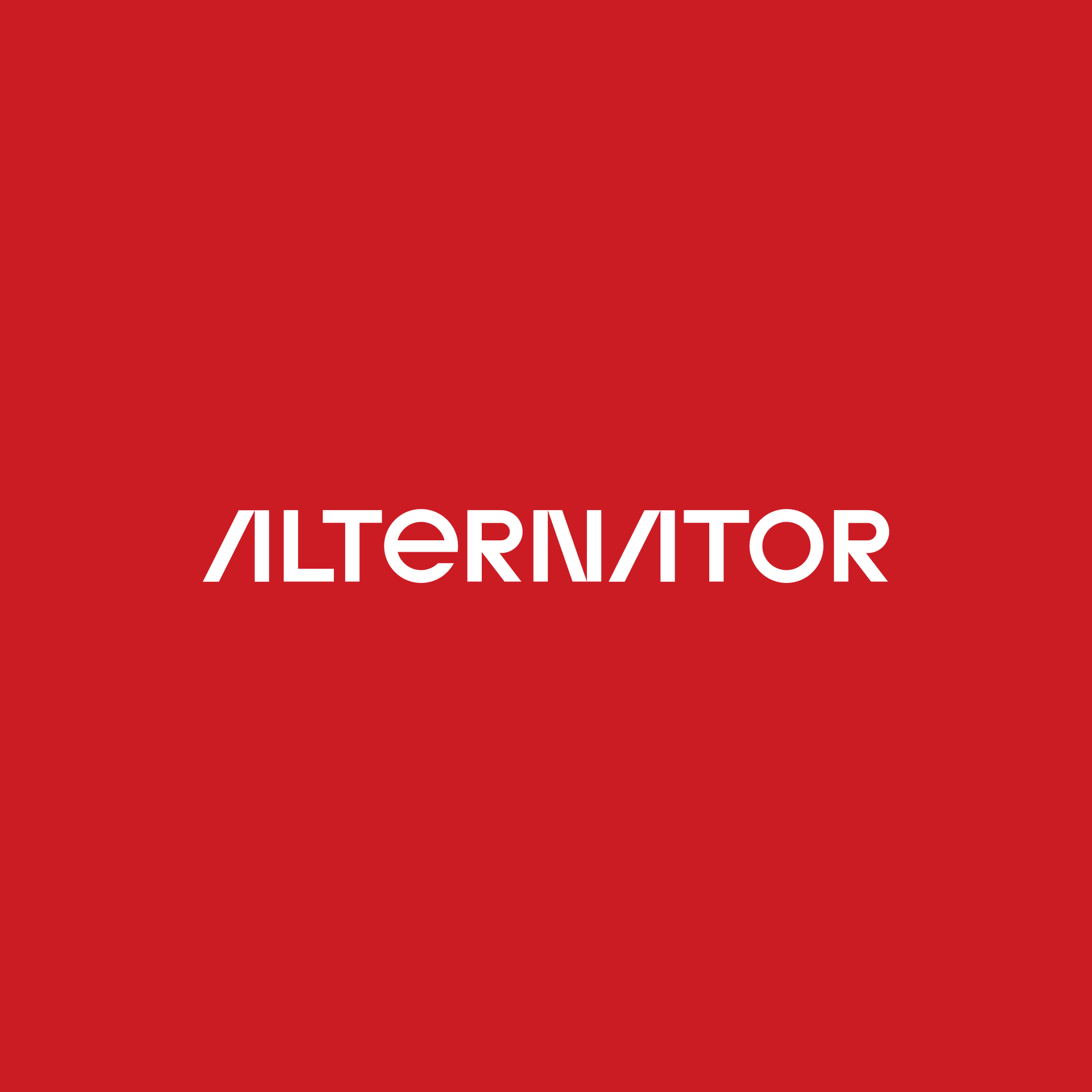 Alternator logotip